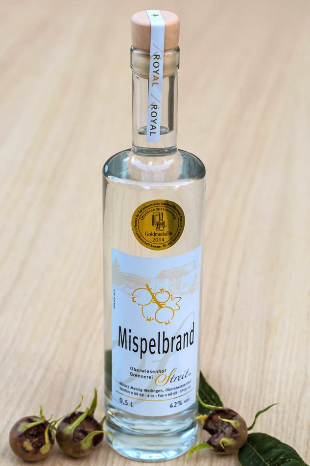 Mispel-Obstbrand